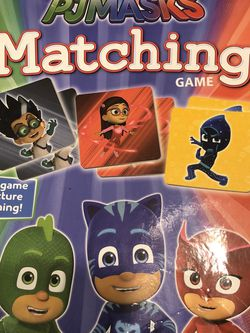 PJ Masks Matching Card Game for Sale in Glendale,  AZ