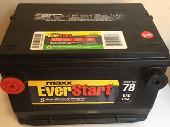 Car Battery Chevy GMC Cadillac Buick Pontiac Size 78 Only 7 Months Old Ready To Install. for Sale in Carson,  CA