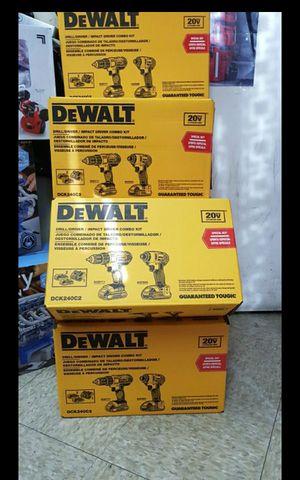 DEWALT 20V MAX CORDLESS COMBO SET BRAND NEW EACH POR UNO for Sale in San Bernardino, CA