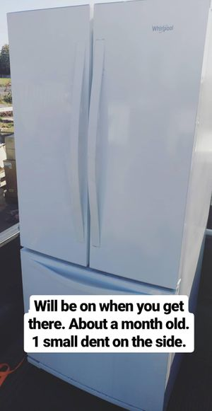 Whirlpool French Door Fridge for Sale in Vancouver, WA