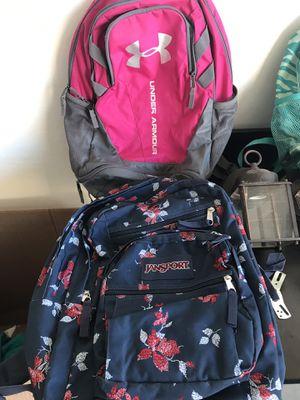 Jansport/under armor backpacks for Sale in Chandler, AZ