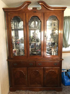 China Cabinet / Hutch for Sale in Tracy, CA
