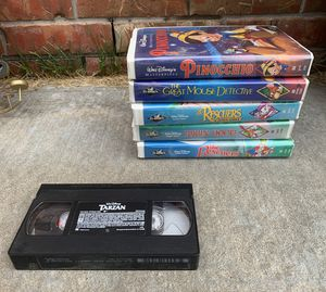 Classic Disney VHS Movies for Sale in Oklahoma City, OK