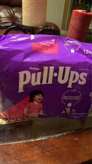 Huggies pull ups for Sale in Humble, TX