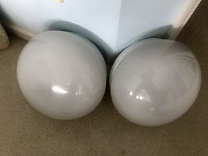 2 Over head light fixtures 12-14inches in diameter for Sale in Fenton, MO