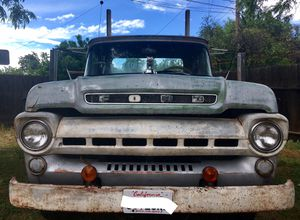 57 Ford Flatbed Truck for Sale in Fresno, CA