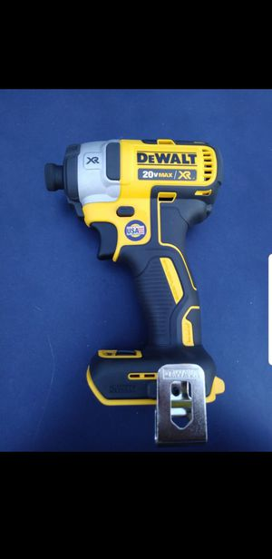 DeWalt xr brushless 3 speed impact driver. Brand new. No battery or charge for Sale in San Antonio, TX