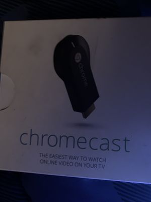 Google Chromecast HDMI Streaming Media Player (H2G2-42) for Sale in Queens, NY