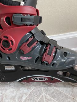 Size 8 US Women's Abec 1 Speed barring & Size 6 US Kids skates (together plus bags) for Sale in Rockmart,  GA