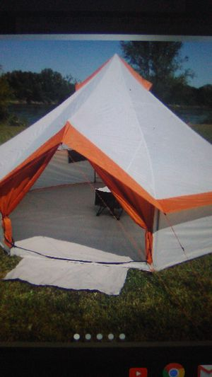 8 person Yurt Tent Camping Outdoors Family Festivals for Sale in The Colony, TX