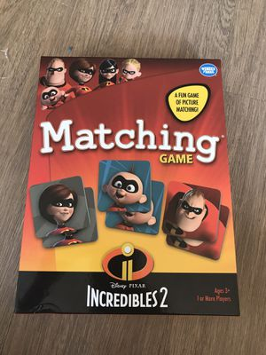 Kids matching game for Sale in Menomonee Falls, WI