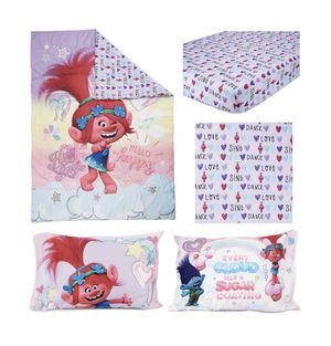 Brand new Trolls Toddler 4 pc Bed Set for Sale in Monroe, NC