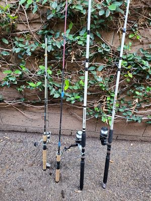Fishing rods for Sale in Placentia, CA