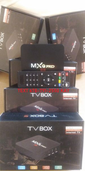 Android Ready Live TV 4K Box in UHD that has more features than sticks! for Sale in Atlanta, GA