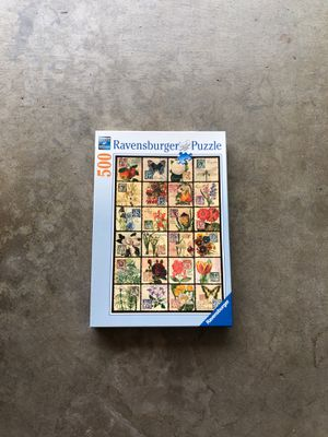 500 piece puzzle with all pieces. Ravensburger Puzzle, Table Puzzle, Picture Puzzle for Sale in Covina, CA