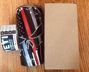 20oz US flag punisher designed yeti tumbler for Sale in Aldie, VA