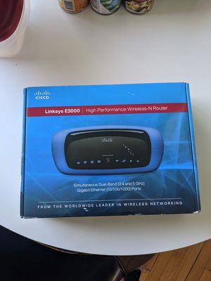 Cisco Linksys E3000 wireless router for Sale in Portland, OR