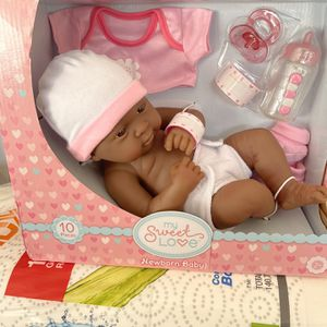 Newborn Baby Doll for Sale in Irving, TX
