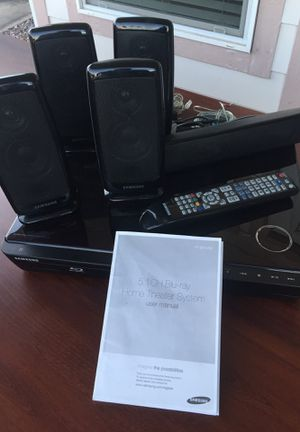 Samsung 5.1 CH -Blue Ray 6 Speakers for Sale in Mesa, AZ