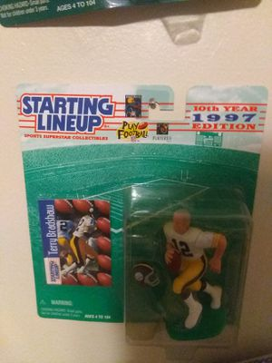 Starting line up card and figure of Terry Bradshaw 30$ OBO➕ for Sale in Lancaster, OH