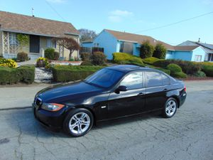 2008 BMW 328i Runs and Drives Great Automatic Leather Sunroof 100k Miles Black on Black for Sale in Hayward, CA
