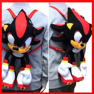 BNew! Sega Sonic the Hedgehog SHADOW soft toy plush backpack video game cartoon anime characters kid's bag for Sale in Los Angeles, CA