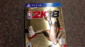 Nba2k18 brand new Gold Legend Edition for Sale in Lake Stevens, WA