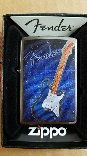 Zippo fender brushed chrome 29128 for Sale in Los Angeles, CA