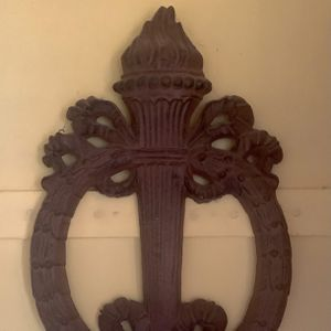 Rare vintage 'EMPIRE' Cast Iron Sconce for Sale in Sharon, CT