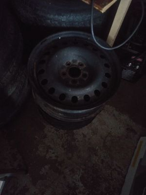 17 inch rim and 2 tires for Sale in Pawtucket, RI