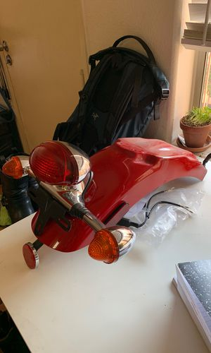 2012 Triumph thruxton 900 rear fender tail light assembly for Sale in Los Angeles, CA