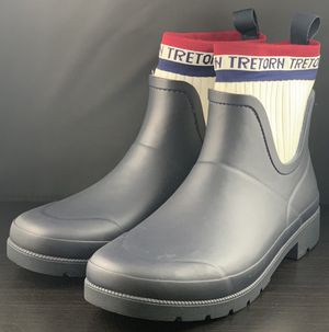 NEW Tretorn Lia Short Sock Rubber Rain Boots Women's Size 9 or 10 for Sale in Gardena, CA