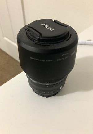 Nikon Lense n1-nikkor 30-110 for Sale in Kissimmee, FL
