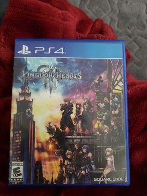 Kingdom Hearts 3 PS4 for Sale in Hoboken, NJ