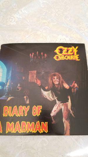 OZZY OSBOURNE DIARY OF A MADMAN VINYL LP RECORD ALBUM for Sale in Cypress Gardens, FL