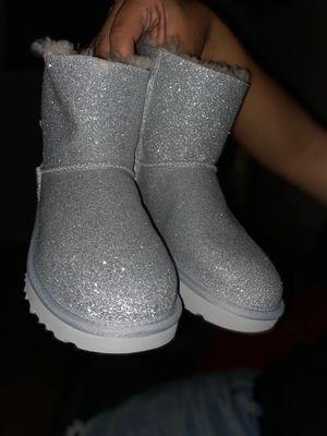 Silver Glitter Uggs for Sale in Carrollton, TX