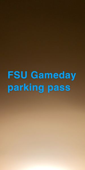Gameday parking make a offer for Sale in Tallahassee, FL