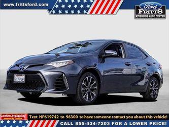 2017 Toyota Corolla for Sale in Riverside,  CA