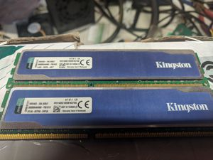 Kingston Hyper Blue 16 gig ram DDR 3 DDR3 speed 1600 for Sale in Stroudsburg, PA