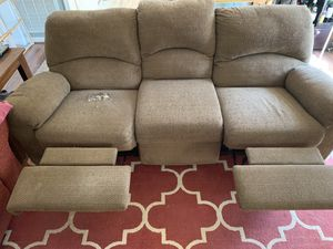 Reclining Couch for Sale in Manassas, VA