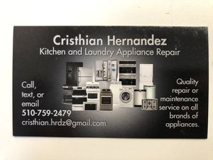 Appliance Repair for Sale in San Bruno, CA