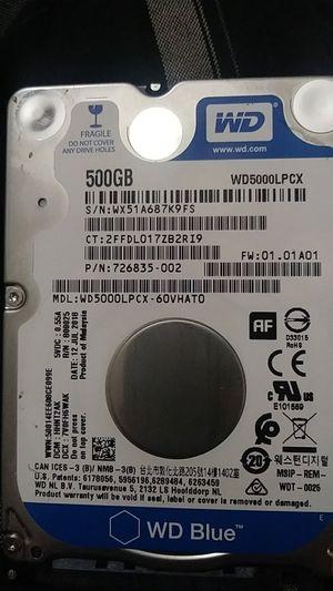 500gb hard drive WD blue for Sale in Colton, CA