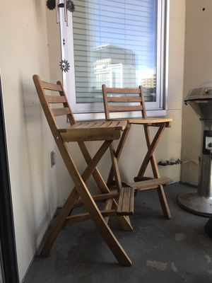 Outdoor Wood Barstools for Sale in Denver, CO