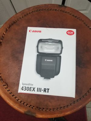 Brand New Canon 430EX III-RT Speedlite!!! for Sale in San Bernardino, CA