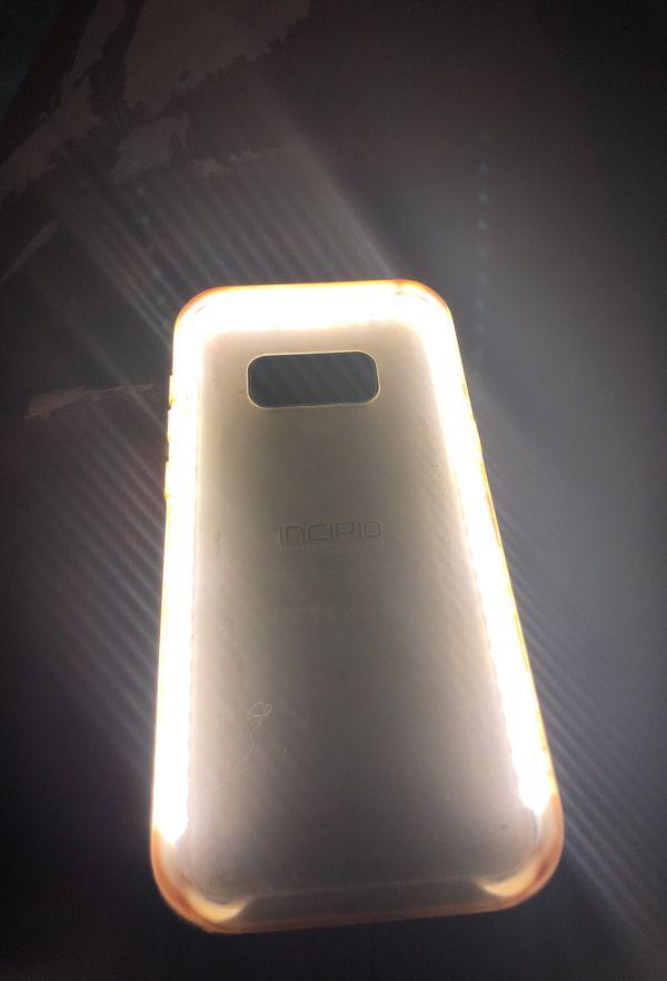 Light up case (Samsung 8plus)