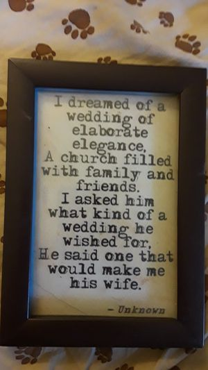 Wedding picture for Sale in Charlotte, NC