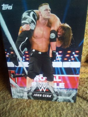 Topps WWE John Cena special card for Sale in Ontario, CA
