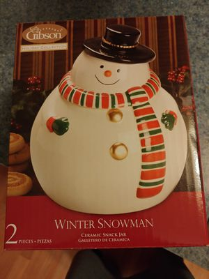 Christmas jar 7.5 inches for Sale in Waterford Township, MI