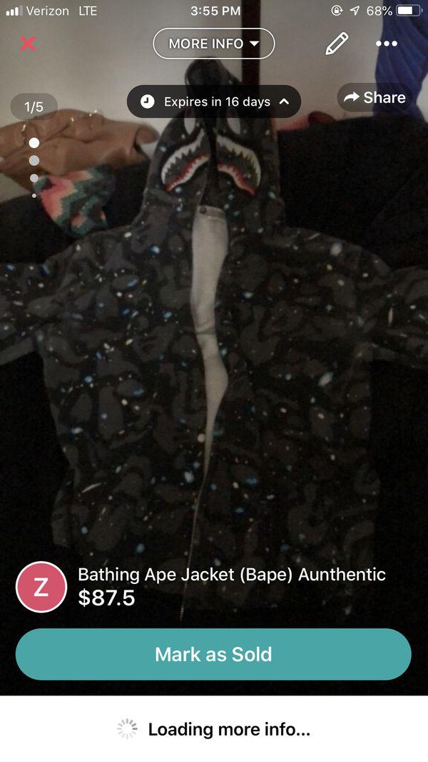 Bape Jacket Authentic