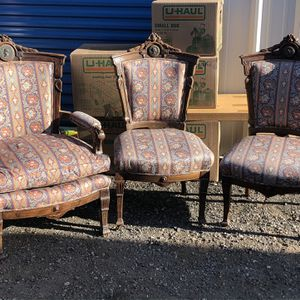Antique Chairs for Sale in Renton, WA